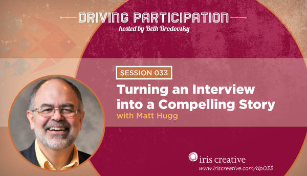 Podcast: Turning an Interview into a Compelling Nonprofit Story