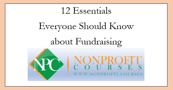 12 Fundraising Essentials for Everyone