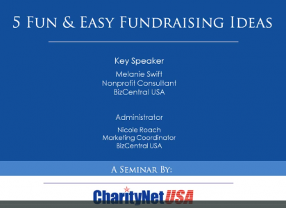 5 Fun And Easy Fundraising Ideas