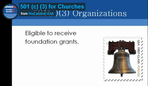 501(c)3 for Churches