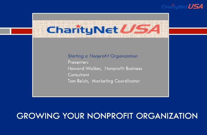 Grow your Nonprofit Organization