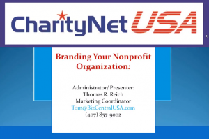 Branding Your Non Profit Organisation