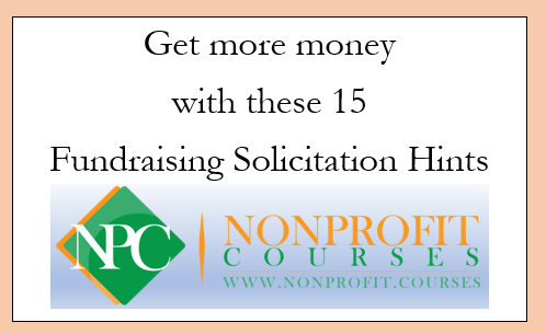 Get more money with these 15 Direct Mail Nonprofit Fundraising Solicitation Hints