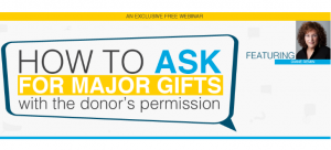 How to Ask for Major Gifts