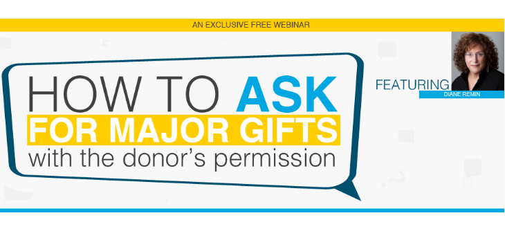 How to Ask for Major Gifts with the Donor's Permission