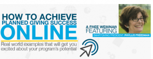 Achieve Planned Giving Success Online