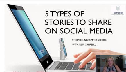 The 5 Stories You Need to Tell On Social Media (with examples)
