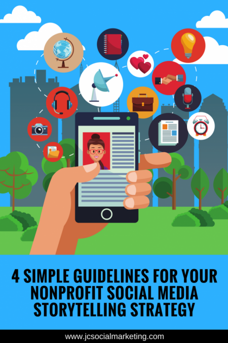 4 Simple Guidelines For Your Nonprofit Social Media Storytelling Strategy