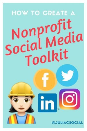 How to create a Nonprofit Social Media Toolkit