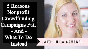 5 Reasons Nonprofit Crowdfunding Campaigns Fail