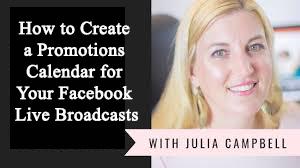 Create a Promotions Calendar