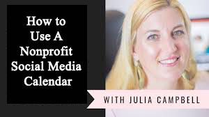 How to Use A Nonprofit Social Media Calendar