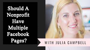 Should A Nonprofit Have Multiple Facebook Pages?