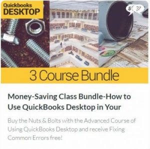 Money-Saving Class Bundle – How to Use QuickBooks Desktop Edition in Your Small Church or Nonprofit