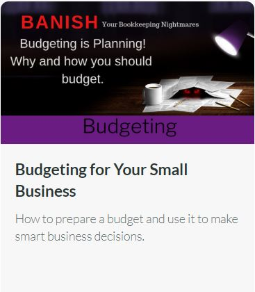 Budgeting for Your Small Business – How to prepare a budget and use it to make smart business decisions.