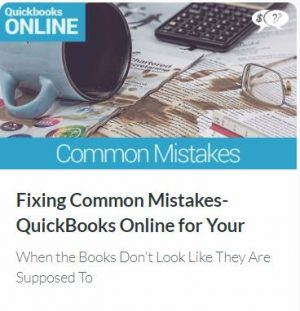 Fixing Common Mistakes in QuickBooks Online for Your Small Church or Nonprofit