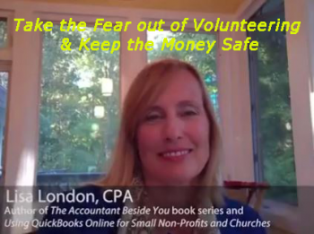Take the Fear out of Volunteering and Keep the Money Safe