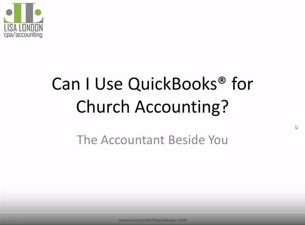Can I use QuickBooks for Church Accounting?
