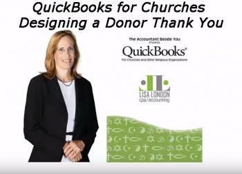 Quickbooks for churches