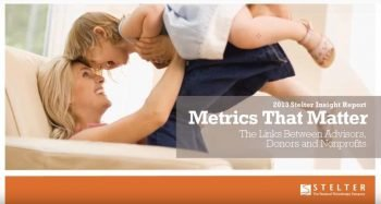 Metrics that Matter: the Link between Advisors, Donors, and Nonprofits