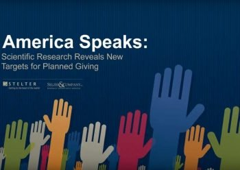 America Speaks: Scientific Research Reveals Targets for Planned Giving