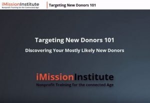 new donor targeting