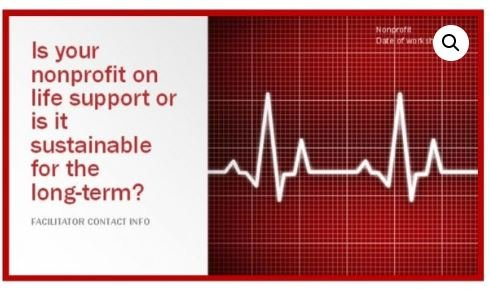 Is Your Nonprofit on Life Support or is It Sustainable for the Long Term?