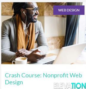Crash Course Nonprofit Web Design