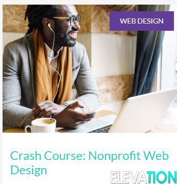 Crash Course: Nonprofit Web Design