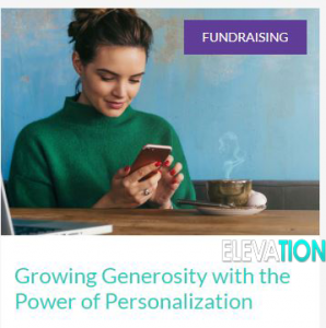 growing generosity with the power of personalization
