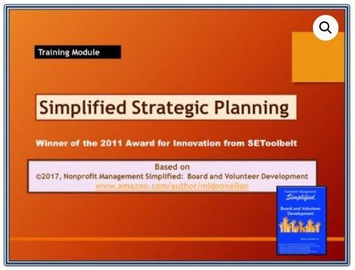 Simplified Strategic Planning