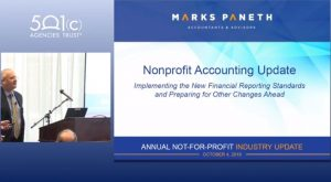 2018 Nonprofit Accounting Update