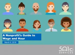 A Nonprofit's Guide to Wage and Hour