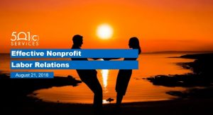 Effective Nonprofit Labor Relations
