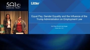 Equal Pay, Gender Equality and the Influence of the Trump Administration on Employment Law