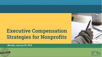 Executive Compensation Strategies for Nonprofits