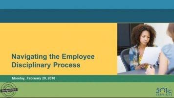 Navigating the Employee Disciplinary Process