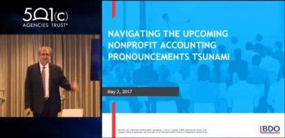 Navigating the Upcoming Nonprofit Accounting Pronouncements Tsunami