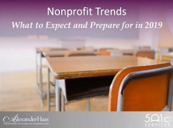 2019 Nonprofit Funding Trends