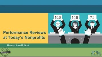 Nonprofit Performance Review Technology and Tactics for Nonprofits