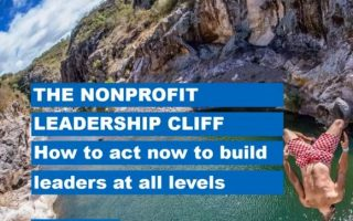 The Nonprofit Leadership Cliff: How to act now before you go over the edge