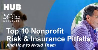 Top Ten Nonprofit Risk & Insurance Pitfalls
