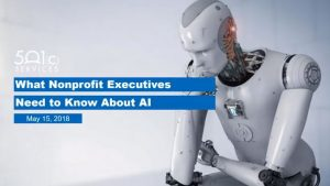 What Nonprofit Executives Need to Know About AI