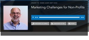 Marketing Challenges for Nonprofits Podcast