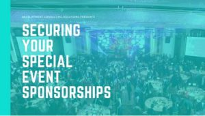 Securing Your Special Event Sponsorships