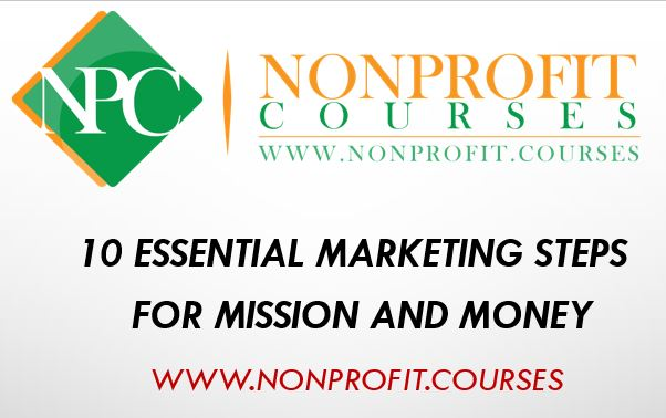 10 essential marketing steps for mission and money
