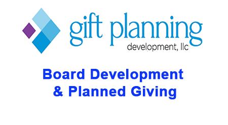 Board Development & Planned Giving