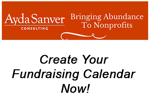 Create Your Fundraising Calendar, Now!