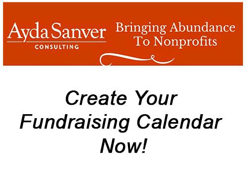 Create Your Fundraising Calendar, Now!
