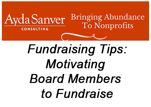 Motivating Board Members to Fundraise